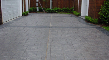 Stamped Concrete Houston Stamped Stained Polished Concrete - Polished concrete patio